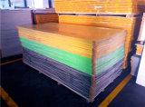 Folha de espuma de PVC vermelho para Escritório Cabinet 6-20mm