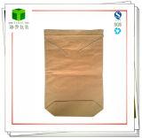 Couture Sac en papier kraft en bas de la poudre de carbure de silicium