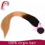 대중적인 7A 급료 Omber Virgin 머리 매끄러운 똑바른 사람의 모발