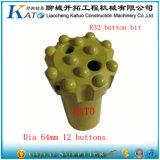 76mm et 89mm de diamètre Bit bouton Rock Bit
