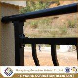 Bent New Style Balcon Rampes avec ornement