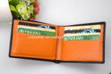 Mode Trifold court portefeuille en cuir pour le don d'affaires