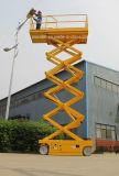 Китай завод самоходных аккумулятор гидравлический подъемный стол ножничного типа