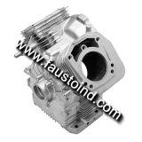 De aluminio a presión el bloque de la gasolina de la fundición, CNC trabajado a máquina