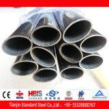Tubo de acero inoxidable oval plano (430 316Ti 310S 904L 321)