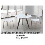 현대 사무용 가구 커피 차 강화 유리 테이블 Yf-T17039