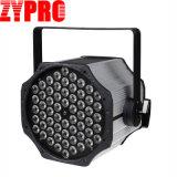 60*3W RGB LED 동위 세척 단계 빛