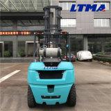 5 Tonnen-Doppelkraftstoff LPG-Benzin-Gabelstapler mit Motor P-/inEPA