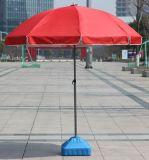 Commerce de gros de la promotion de la publicité de la plage de plein air parapluie avec logo personnalisé