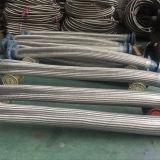 Las mangueras de metal flexible corrugado con trenzado