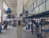 Резиновые перчатки производственной линии виниловых производителей вещевого ящика