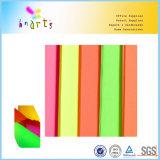 Rodillo de papel fluorescente del color