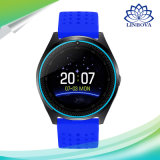 Франтовской вахта V9 с карточкой Smartwatch wristwatch SIM часов часов спорта здоровья Bluetooth камеры