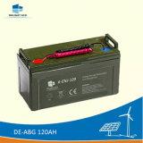 Изысканность De-Abg 120Ah 12V глубокую цикла аккумулятор Гелиевый аккумулятор солнечной энергии