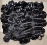 Weave объемной волны выдвижений человеческих волос девственницы высокого качества бразильский
