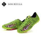 Ботинки футбола футбола зажимов с резиновый единственными зажимами футбола