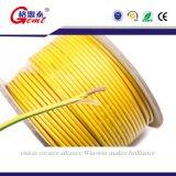 Cabo elétrico do nylon Thhn/Thwn do revestimento de PVC da aprovaçã0 do UL, impermeável