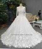 Aolanes устраивающих белый свадебные платья блог Лиф Crystal