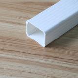 L'extrusion des blancs personnalisée Tube carré en plastique PVC tube rigide