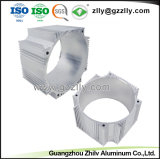 Uitdrijving van het Aluminium van China de Zilveren Geanodiseerde voor Heatsink