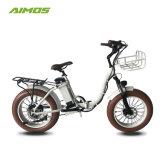 طيّ جديد سريعة درّاجة كهربائيّة, [500و] [1000و] إطار العجلة سمين يطوي [إبيك]