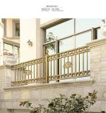 Pasamano del acero inoxidable y del hierro labrado para la escalera y el balcón