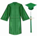 カスタム高品質の卒業の帽子のふさのガウン