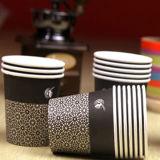 Cuvettes chaudes remplaçables de boisson du papier 6oz de vente chaude