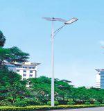 IP65 indicatore luminoso esterno solare chiaro di alluminio del corpo 4m-12m