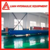 Cylindre hydraulique personnalisé de pétrole moyen de pression pour l'industrie métallurgique