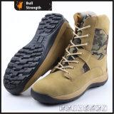 Botas de seguridad del ejército con suela de goma (SN5187)