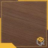 Ligne papier décoratif d'impression de modèle pour l'étage, porte, surface de meubles d'usine chinoise