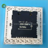Heller Schalter-Wand-Schalter-heller Schalter-elektrischer Schalter-Weiß-Schalter des Dimmer-Schalter-A8