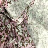 Alta qualità 1/3 di tessuto viscoso della saia con la stampa per gli indumenti