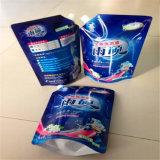 Support personnalisé jusqu'à l'emballage des aliments Sac Pochette de la tuyère d'aluminium