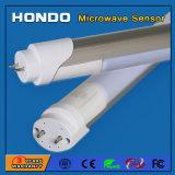 Fabricante de China del sensor del detector de movimiento de microondas de 1200mm de 4 pies de la luz del tubo LED 18W para garajes, pasillo, sótano