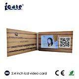 """El anuncio publicitario modificó la tarjeta de visita para requisitos particulares del folleto de la comercialización de la visualización de 2.4 """" LCD"""