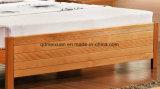 固体木のベッドの現代ダブル・ベッド(M-X2274)