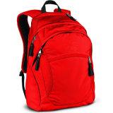 고객 상표를 가진 소녀 로즈 빨간 작은 책가방