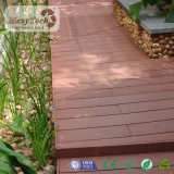 Decking impermeable de madera compuesto de la piscina de la cubierta de WPC para el suelo de madera