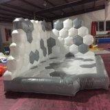Het opblaasbare Bevroren Huis van de Sprong met Dia