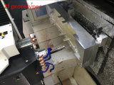 Plástico ABS Material de acero inoxidable aluminio mecanizado CNC de piezas de repuesto