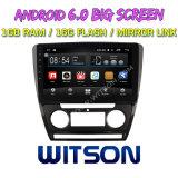 """[ويتسن] 10.2 """" كبير شاشة [أندرويد] 6.0 سيارة [دفد] لأنّ [فولكسوجن] [سكودا] [أكتفيا] (ذاتيّ [أ/ك]) 2010-2014"""