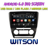 "Witson gran pantalla de 10,2"" de Android 6.0 alquiler de DVD para Volkswagen Skoda Octavia (AUTO A/C) 2010-2014"