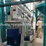 Máquina de moagem de farinha de milho Instalado em Fábrica