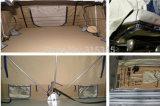 1-2 شخص يخيّم [سوف] سيّارة أعلى سقف خيمة مع ظلة