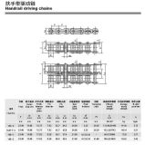 Correntes de engenharia industrial para transmissão escada rolante