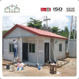 Fácil y rápidamente instalar la casa prefabricada residencial de acero ligera del chalet