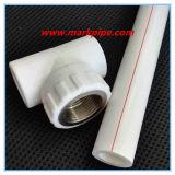 Hochwertiges gutes verkaufenPn16 zusammengesetztes Rohr der Größen-DIN8077 PPR für Heißwasser