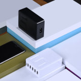 chargeur USB Poweriver, 5 ports USB 5V 8A, portable adaptateur électrique de voyage